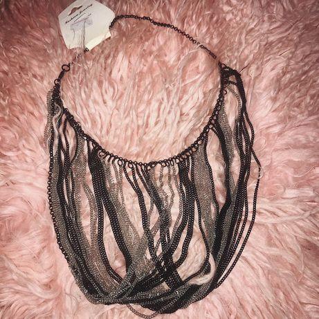 Украшение цепочка ожерелье бижутерия