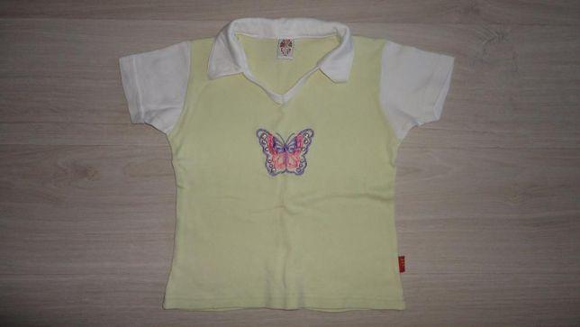 Футболка с бабочкой для девочки 8 - 10 лет