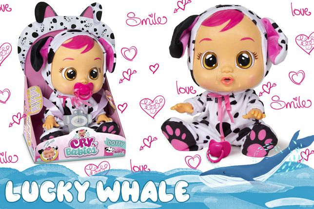 Cry Babies интерактивная кукла плакса Дотти пупс с соской игрушка