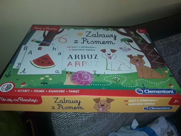 Zabawy z pismem dla dzieci