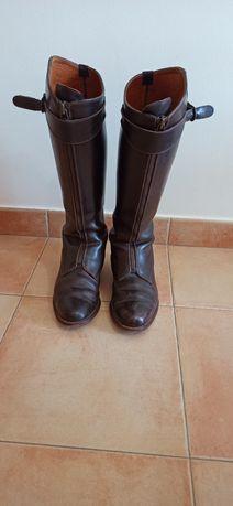 Botas de equitação