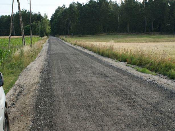 Frez asflatowy asfalt kora destrukt recyklina Kruszywo Kamień Kliniec