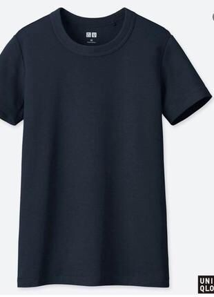 Футболка Uniqlo s  и М черная, коричневая, берюза,синяя,темно-серая