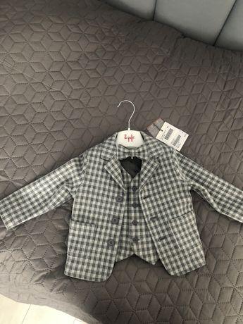 Il Gufo стильный пиджак и жилет для мальчика