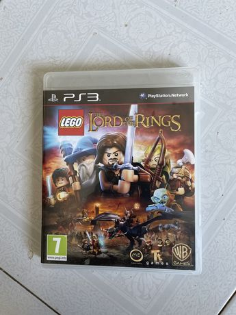 Jogo lego the lord of the rings (senhor dos aneis) ps3
