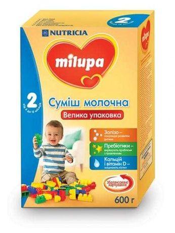 Milupa 2 смесь 600 г