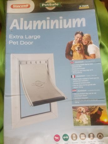 Staywell. Aluminium extra large pet door
