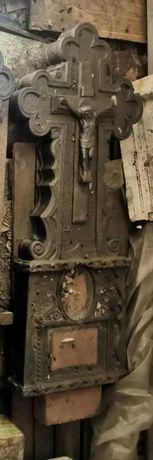 Стелла литой бетон чёрный