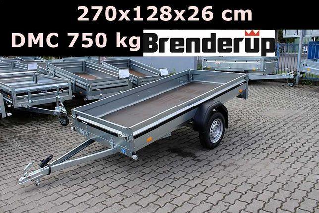 Przyczepa przyczepka Brenderup 2270 DMC 750 kg 270x128x26 cm