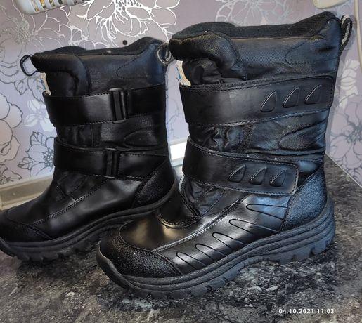 Р.41 термо ботинки на мембране deltex 26 см.