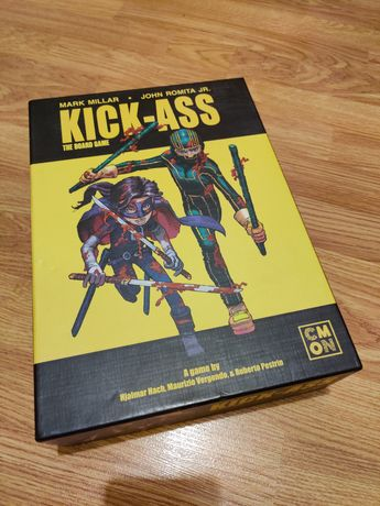 Настольная игра Kick-ass / Пипец