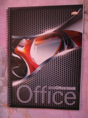 продам тетрадь 96 листов, в клетку, размер А4,на спирали