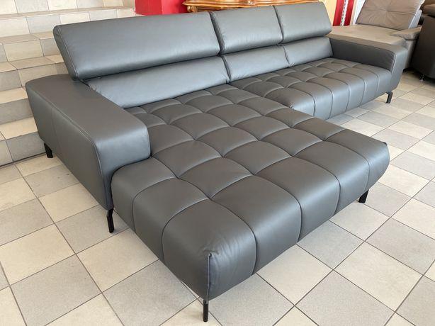 Новый кожаный диван кожаный уголок Германия