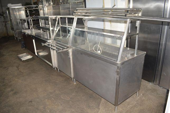 Холодильные и тепловые мармиты б/у