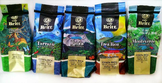 Кава Cafe Brit арабіка Костеріка