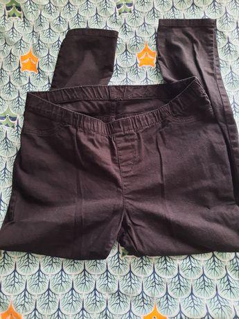 Jegginsy czarne L