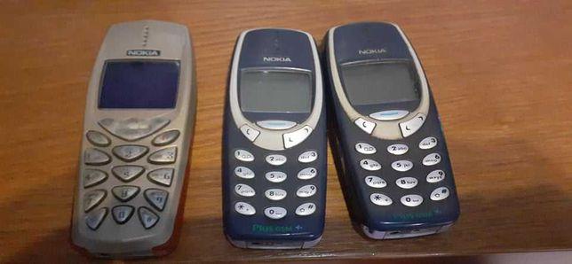 Telefony RETRO Klasyk Nokia 3310 i 3510i oraz Trium 2szt