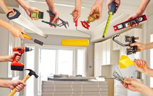 Отделка и ремонт квартир, домов, коттеджей и пр. помещений