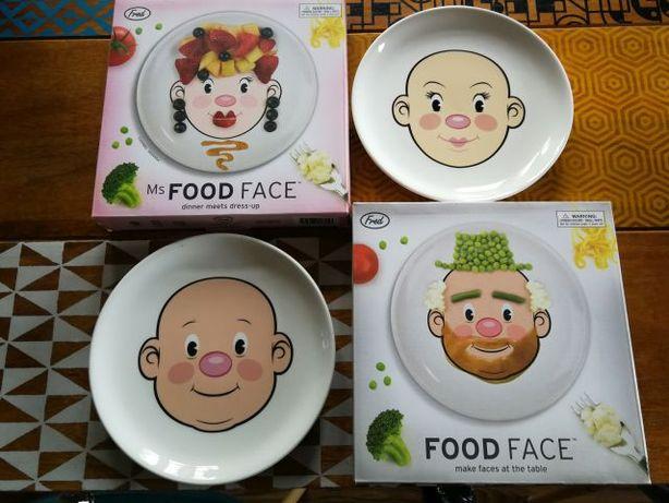 Talerz Face Food do zabawy jedzeniem