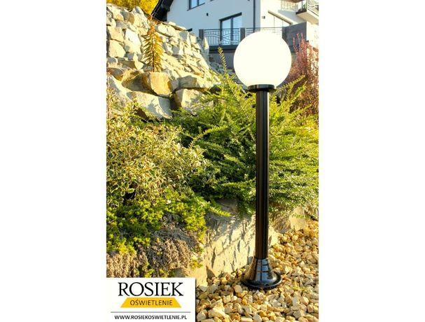 Lampy ogrodowe - Lampa ogrodowa wys. 112cm KULA 25CM Pomysł na prezent