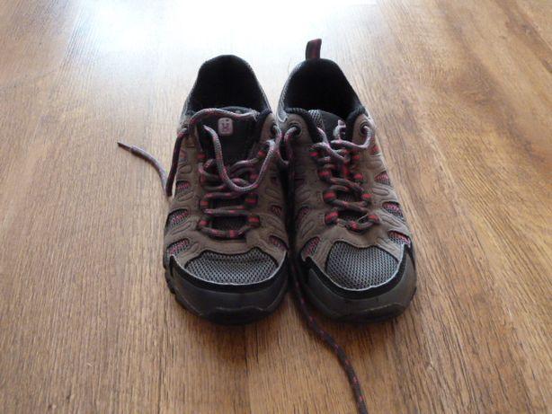 Higear Треккинговые кроссовки, ботики р 32, стелька 20,5, кожа+ тексти
