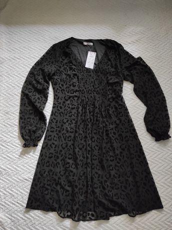 Sukienka  w centki. Rozmiar 38. Reserved