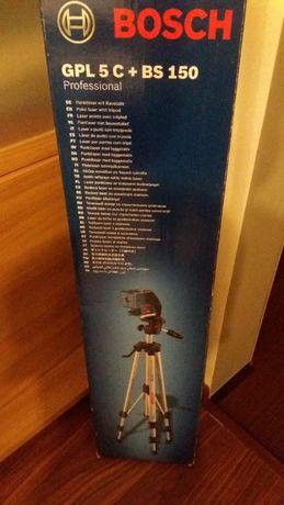 Bosch laser pięciopunktowy GPL5c+ BS150