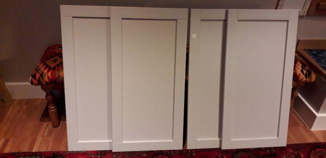Ikea fronty kuchenne Lerh/Lerhyttan jasno szare 4 szt. Nowe