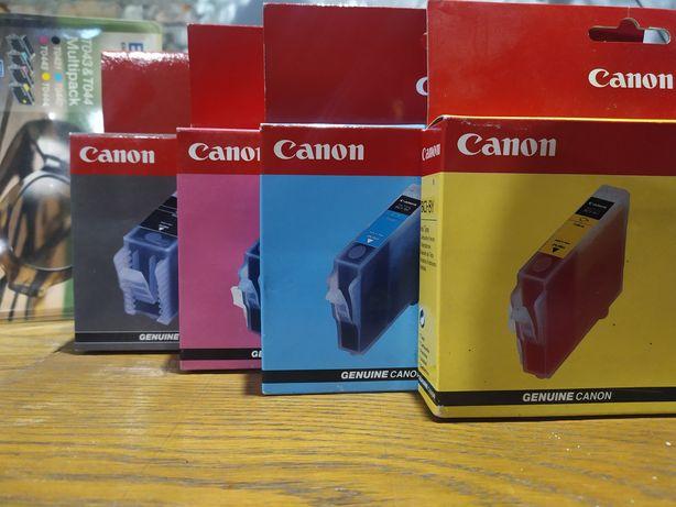 Комплект картриджей для Canon BJC-8500. BCI-8BK,BCI-8M, BCI-8C, BCI-8Y