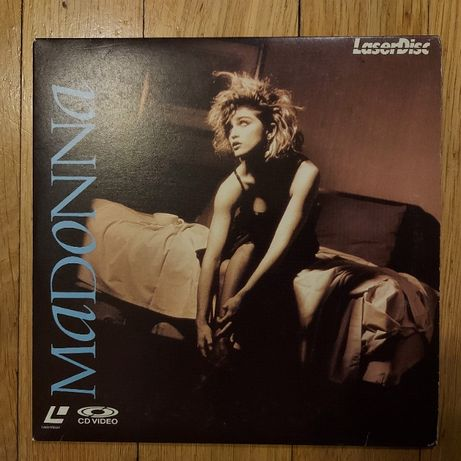 Laserdisc, Madonna, Madonna, Japan, bdb++