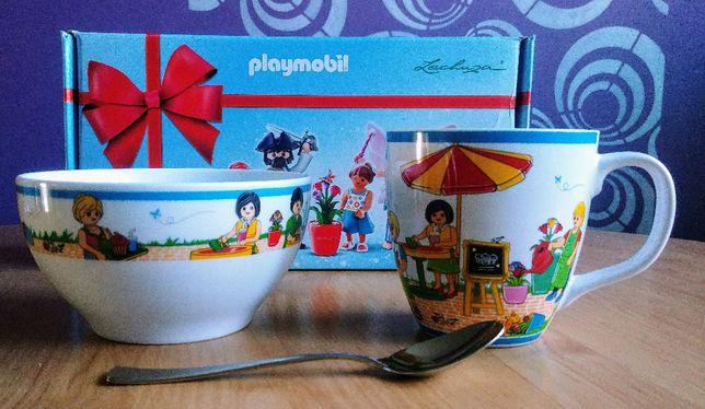 Playmobil zestaw naczyń dla małych smakoszy.