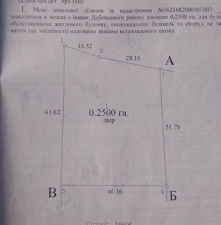 У центрі села Івання Дубенського району продам дві суміжні ділянки