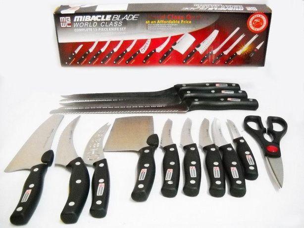 Набор профессиональных кухонных ножей Miracle Blade 13 штук приборов-
