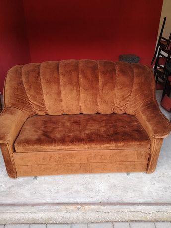 Sofa  z rozkładanym łóżkiem