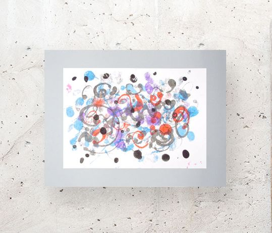 styl skandynawski dekoracja, abstrakcja rysunek, minimalizm obraz loft