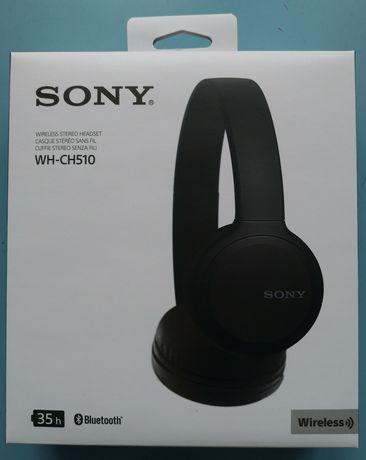 Słuchawki bluetooth SONY WH-CH510 NOWE Gwarancja 35 godzin na baterii