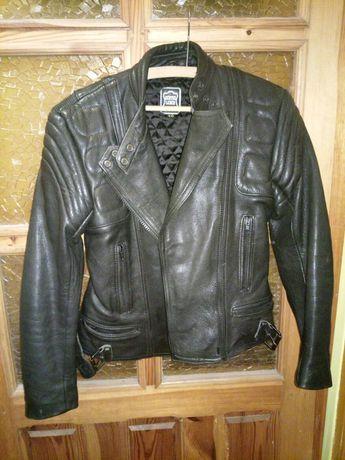 Skórzaną kurtka motocyklowa