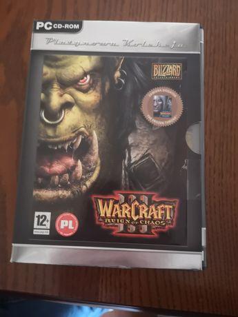 Warcraft lll + warcraft lll expansion set pc