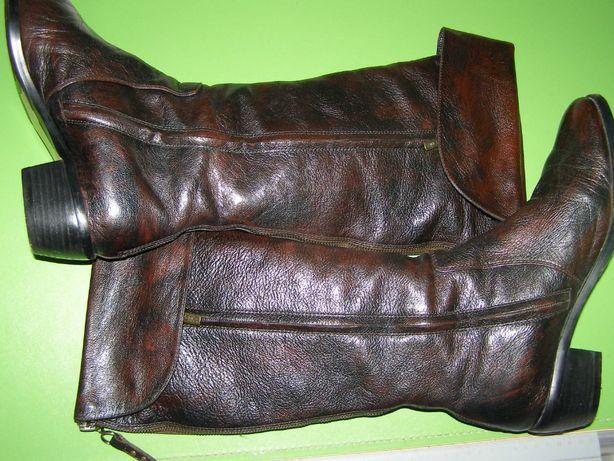 Зимові шкіряні чоботи Astika , розмір 39, устілка 26с