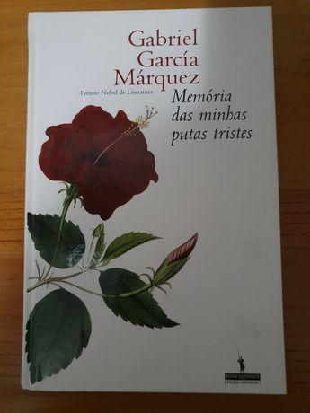 """Livro """"Memórias das minhas putas tristes"""" de Gabriel García Márquez"""
