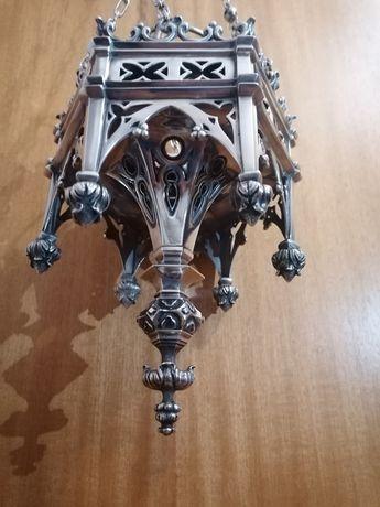 Candeeiro em prata portuguesa