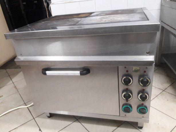 Електро плита з духовою шафою на 4 чавун конфорки ПЕШ.7-4-16,5-380-І-0