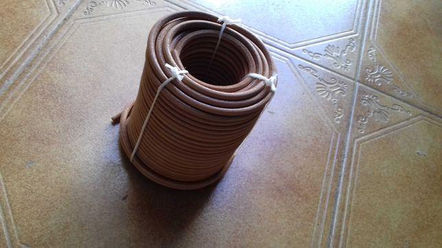 Rolos de correia em couro para máquinas de costura de 1ª.qualidade