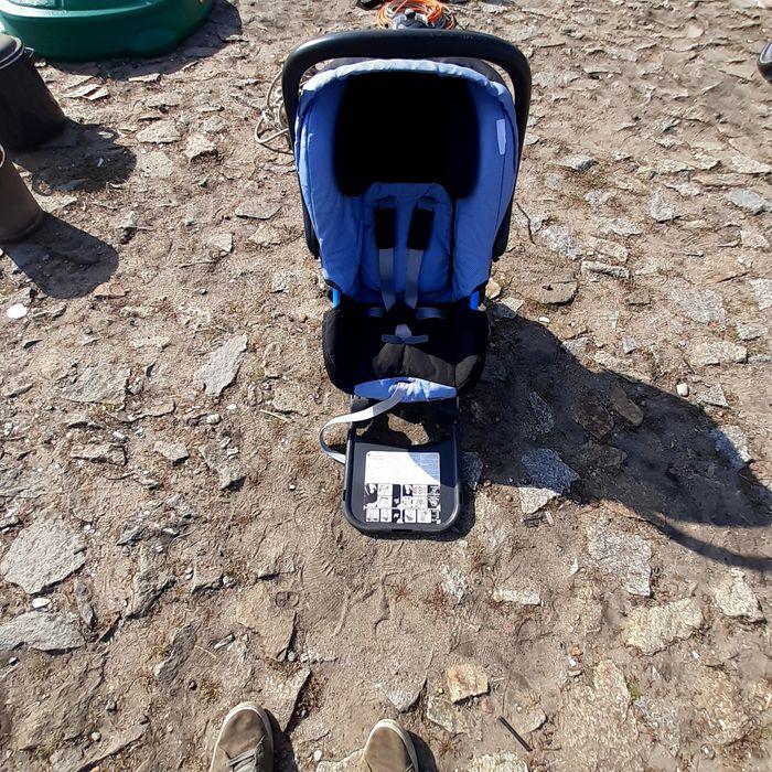 Fotelik Baza Nosidelko Britax Romer Baby Safe Isofix. Rusiec - image 1