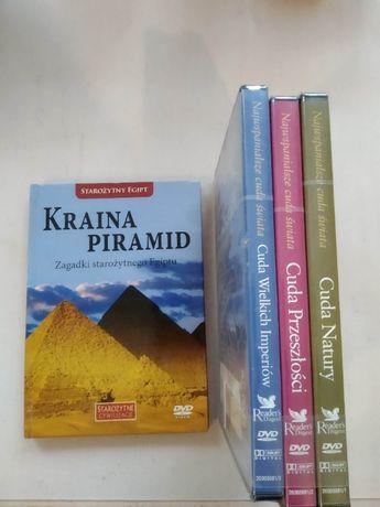 4 płyty dvd edukacyjne