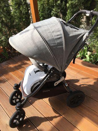 Wózek spacerowy Valco Baby Snap4 Sport Pompowane koła Spacerówka Lekki