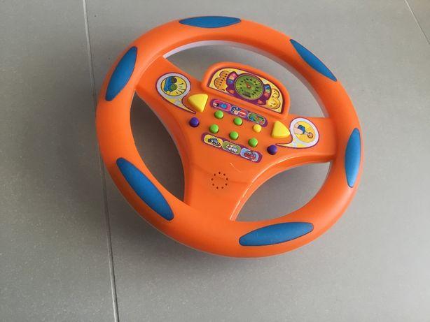 Interaktywna kierownica dla dzieci