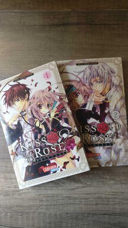 Kiss of rose princess - Aya Shouoto Tom 1 i 2