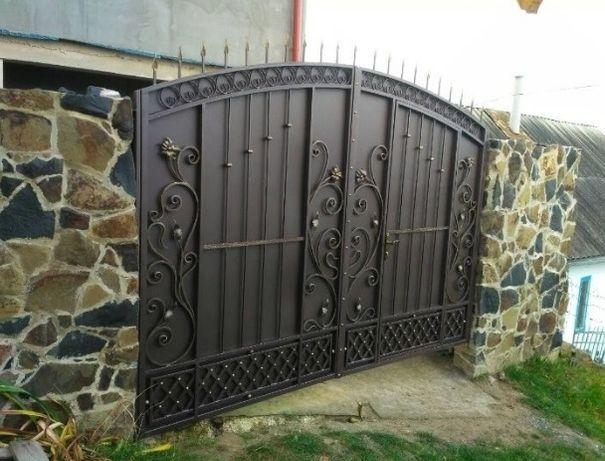 Ворота ковані метал