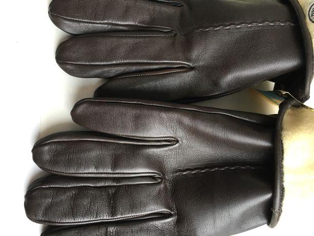 Продажа мужских зимних кожаных перчаток